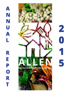 cover of 2015 annual report. click image to read 2015 report.