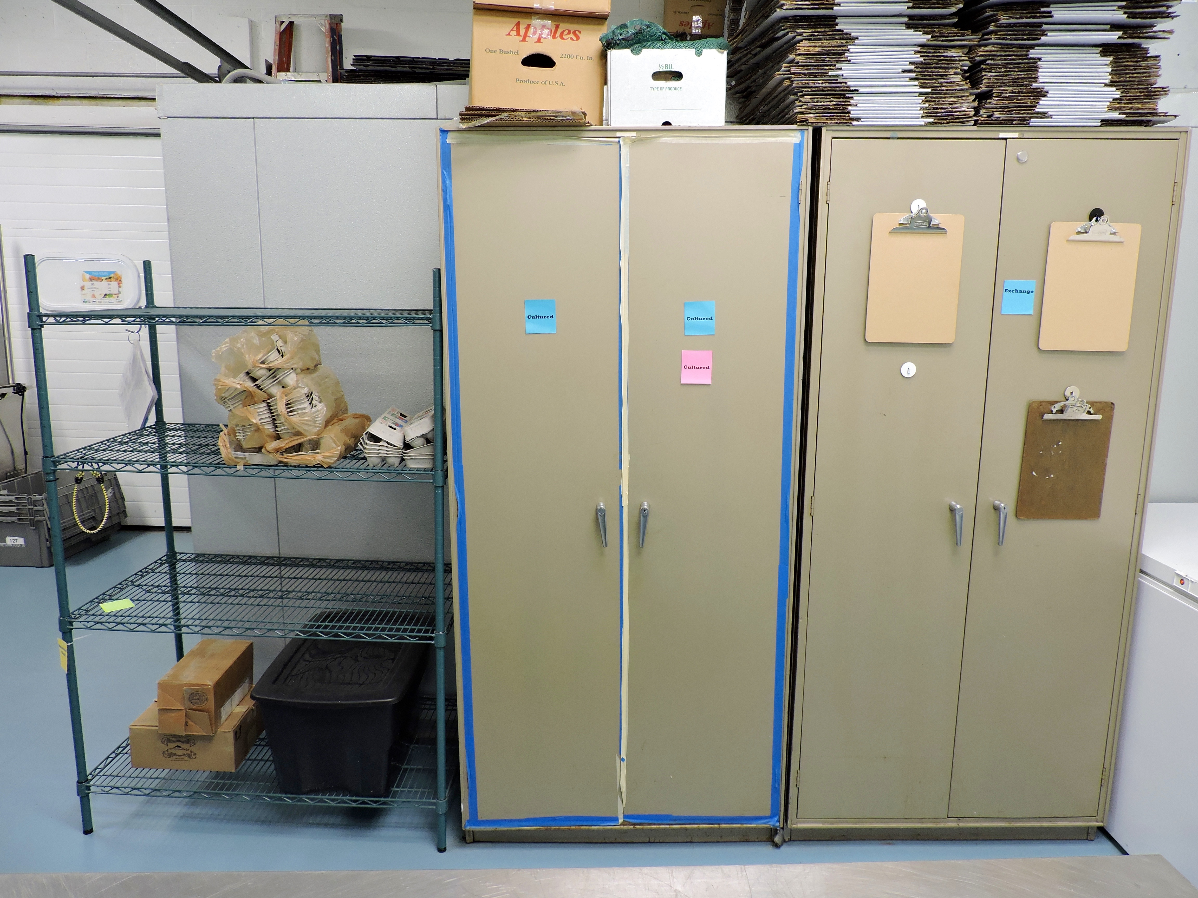 our cold storage options include